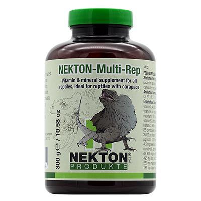 Nekton Multi-Rep 300gm Vitamins-Minerals for all Reptiles Click for larger image