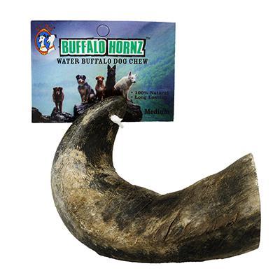 Buffalo Hornz Medium Natural Dog Chew Click for larger image