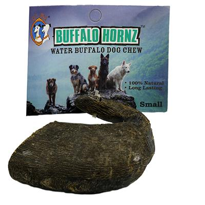 Buffalo Hornz Small Natural Dog Chew Click for larger image