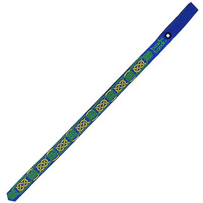 Beastie Band Cat Collar Celtic Knots (Blue) Click for larger image