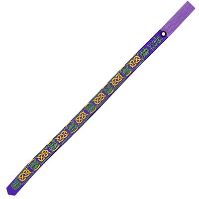 Beastie Band Cat Collar Celtic Knots (Purple) Click for larger image