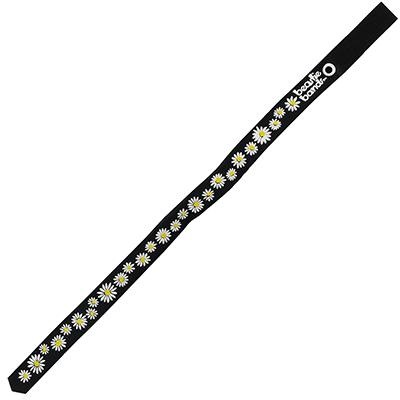 Beastie Band Cat Collar Dazzling Daisy (Black) Click for larger image