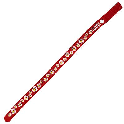 Beastie Band Cat Collar Dazzling Daisy (Red) Click for larger image
