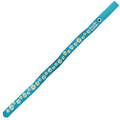 Beastie Band Cat Collar Dazzling Daisy (Teal) Click for larger image