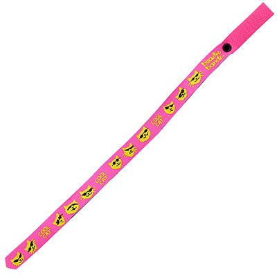 Beastie Band Cat Collar Cool Cat (Pink) Click for larger image