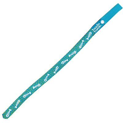 Beastie Band Cat Collar Fish and Bones (Teal) Click for larger image