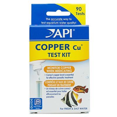 API Copper Aquarium Test Kit for Fresh and Marine Tanks Click for larger image