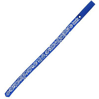Beastie Band Cat Collar Paisley (Blue) Click for larger image