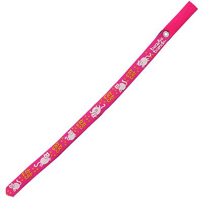 Beastie Band Cat Collar Fat Cat (Pink) Click for larger image