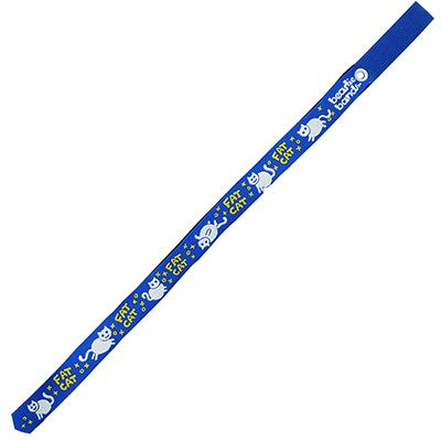 Beastie Band Cat Collar Fat Cat (Blue) Click for larger image