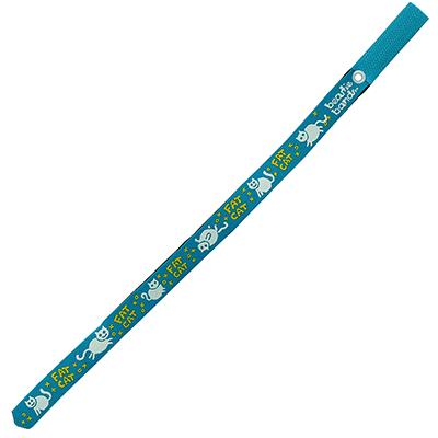 Beastie Band Cat Collar Fat Cat (Teal) Click for larger image