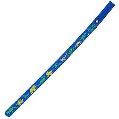 Beastie Band Cat Collar Prehistoric Dinosaurs (Blue) Click for larger image