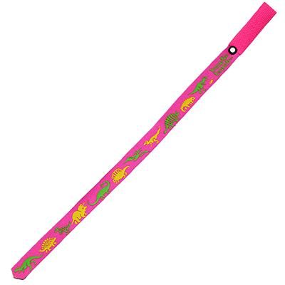 Beastie Band Cat Collar Prehistoric Dinosaurs (Pink) Click for larger image