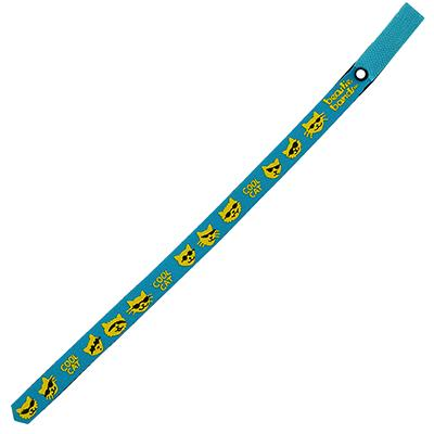 Beastie Band Cat Collar Cool Cat (Teal) Click for larger image