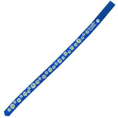 Beastie Band Cat Collar Dazzling Daisy (Blue) Click for larger image