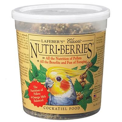 Lafeber NutriBerries Cockatiel 12 ounce Food