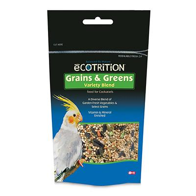 Ecotrition Cockatiel Grains and Greens Treat