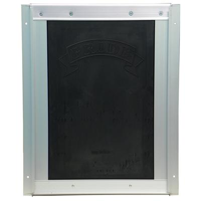 Pride Anodized Silver Pet Door Medium MD400