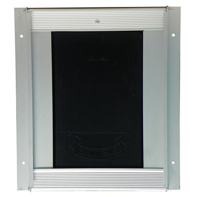 Pride Anodized Silver Pet Door Small SD300 Click for larger image