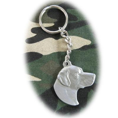 Pewter Key Chain I Love My Labrador Click for larger image