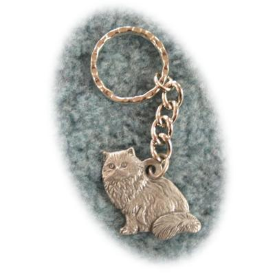 Pewter Key Chain I Love My Himalayan