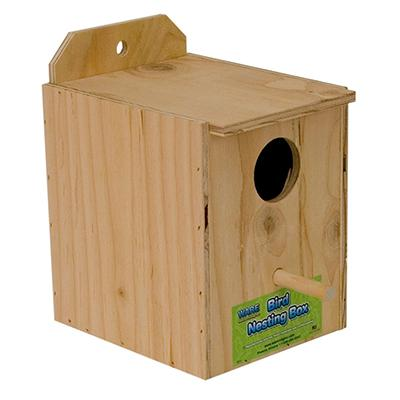 Parakeet Nest Box Inside of Cage/Regular  Click for larger image