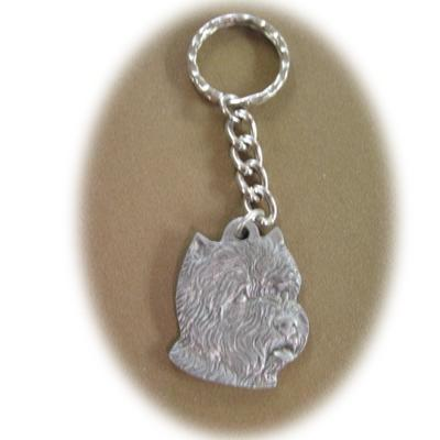 Pewter Key Chain I Love My West Highland White Terrier