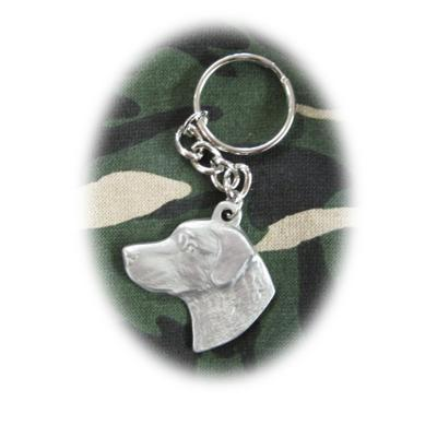 Pewter Key Chain I Love My Chesapeake Bay Retriever Click for larger image