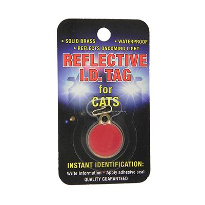 Coastal Safety Pet ID Tag Reflective Cat