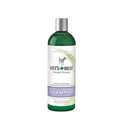 Vets Best Hypoallergenic Pet Shampoo 16 ounce