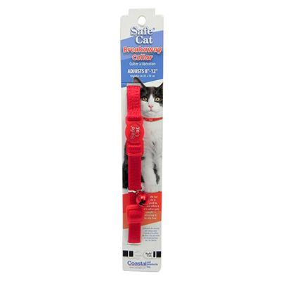 Nylon Cat Collar Breakaway Red