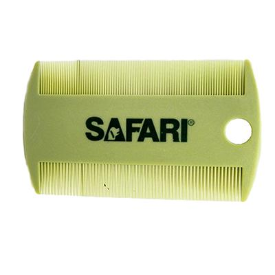 Double-Sided Safari Plastic Flea Comb Click for larger image