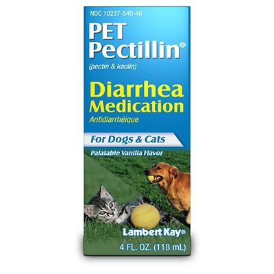 Pet Pectillin for Diarrhea in Dogs and Cats
