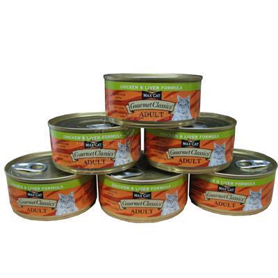 Nutro Max Cat Gourmet Classics Chicken/Liver Case