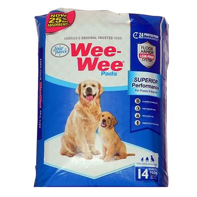 Four Paws Wee Wee Pads 14-pack Puppy Housebreaking
