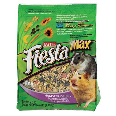 Kaytee Fiesta Hamster Food 2.5 pound Click for larger image