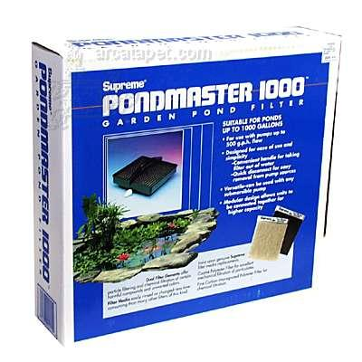 Supreme Pondmaster Pond Filter (no pump)