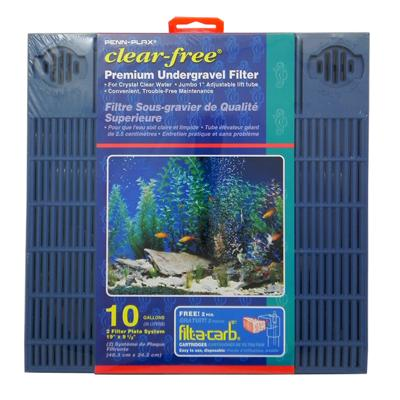 Undergravel Aquarium Filter 10 Gallon