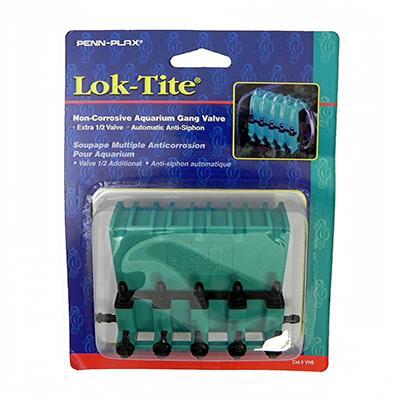 Lok-Tite  Non-Corrosive Aquarium 5 Gang Air Valve