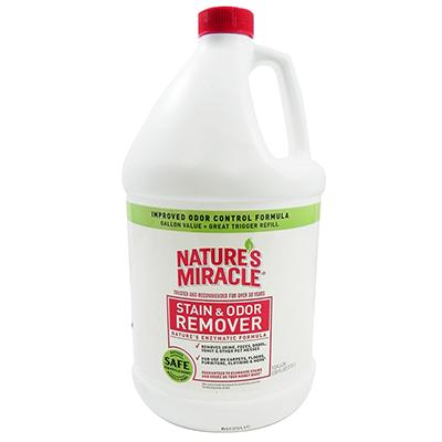 Natures Miracle Gallon Stain and Odor Remover for Dogs Click for larger image