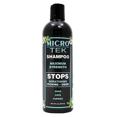 EQyss Micro-Tek Pet Skin Relief Shampoo 16 oz Click for larger image