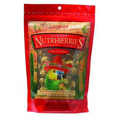 Lafeber El Paso Gourmet Nutri-Berries Parrot Food