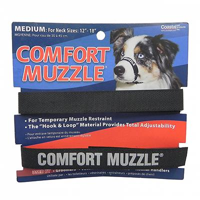 Dog Muzzle, Velcro 3/4 inch Click for larger image