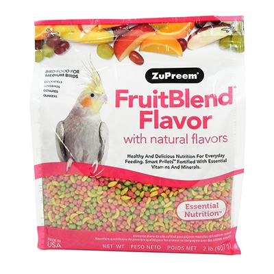 ZuPreem Fruit Blend Tiel Food 2lb. Click for larger image