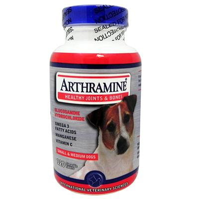 Arthramine 120 count Glucosamine for Dogs
