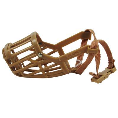 Dog Muzzle, Flexible Basket Size  4