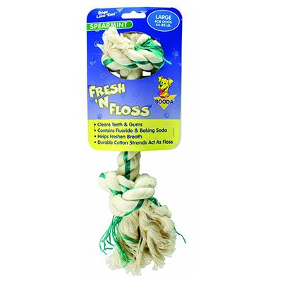 Booda Fresh 'N' Floss Large Dog Chew Toy Click for larger image