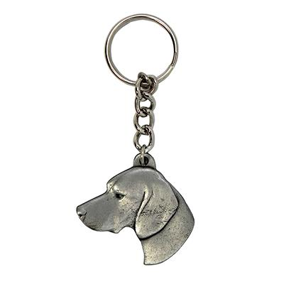 Pewter Key Chain I Love My German Shorthair Pointer Click for larger image