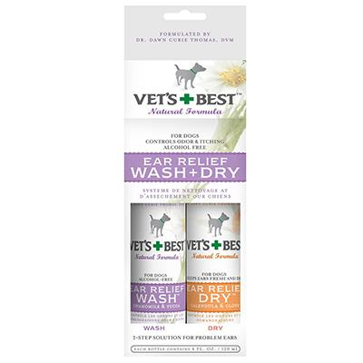 Vets Best Dog Ear Relief Kit