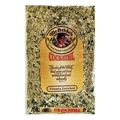 McBrides Cockatiel Bird Seed Mix 32 ounce Click for larger image